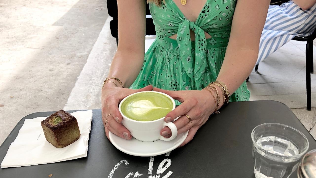matcha latte nadine andreewitch
