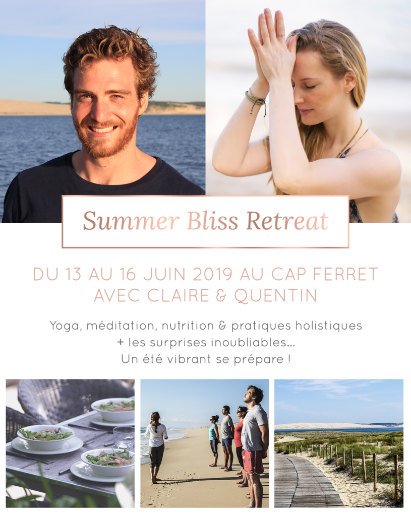 retreat yoga au Cap ferret