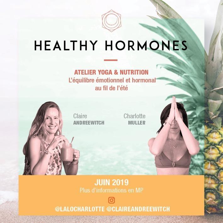 Atelier Healthy Hormones - Yoga & Nutrition