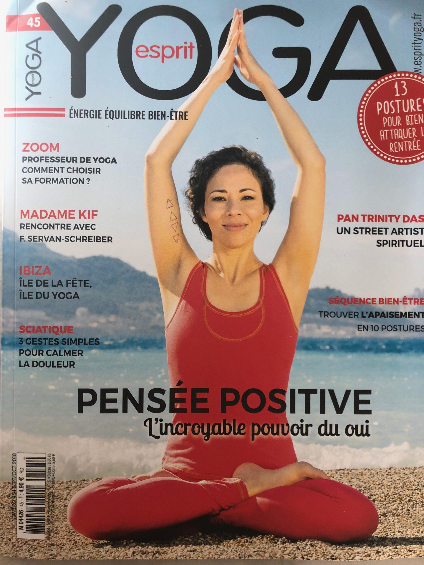 Esprit Yoga Claire Andreewitch conseils bien-être en automne