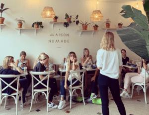 Talk Naturopathie et les aliments feel good avec Holissence à la maison Nomade Paris Juin 2019