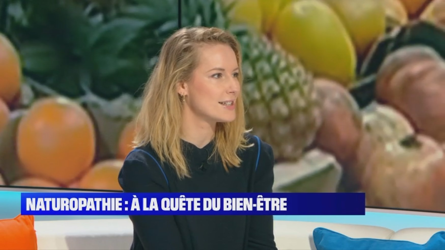 Matinale BFM TV 6 octobre 2019 Claire Andréewitch
