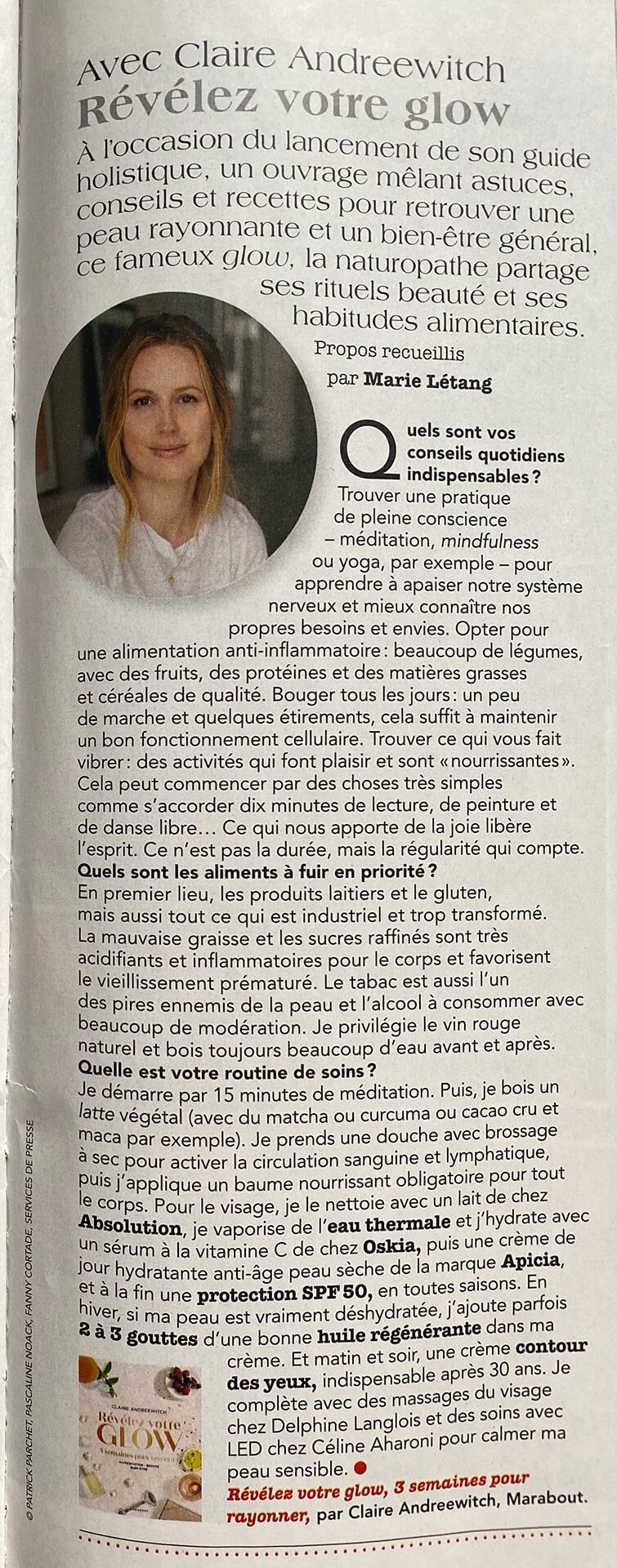 Point de Vue - Claire Andréewitch