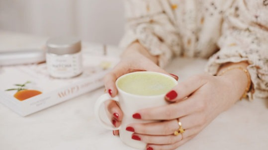 Le Matcha Latte - Claire Andreewitch