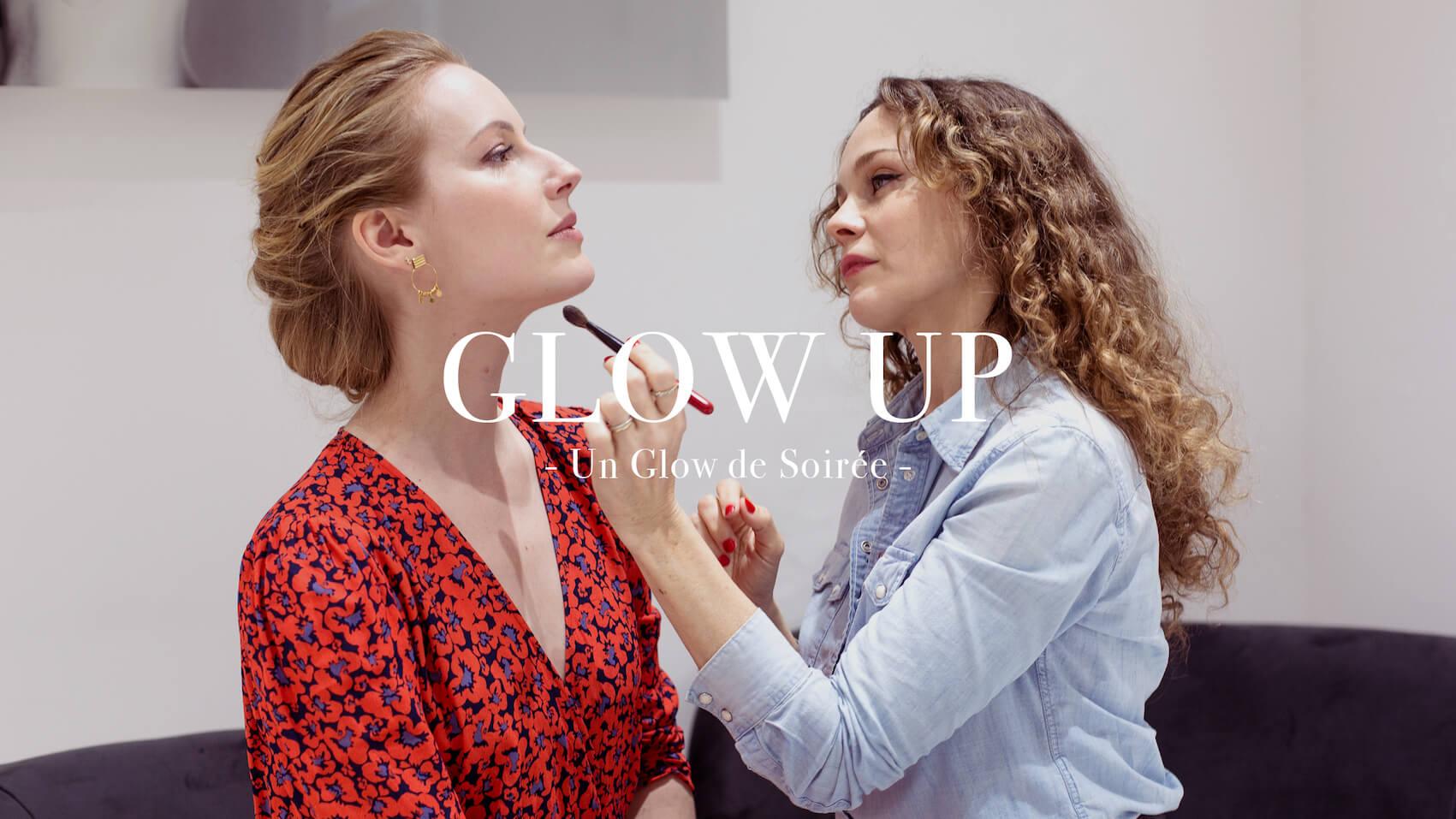 Makeup glow de soirée - Claire Andreewitch