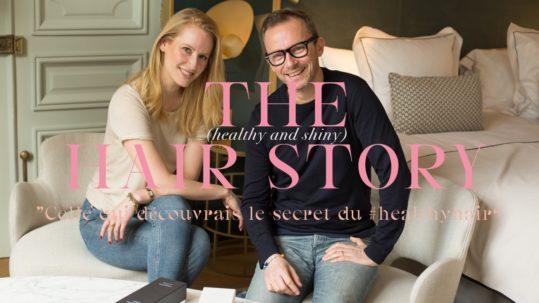 Des cheveux au naturel avec Olivier Lebrun - Claire Andreewitch
