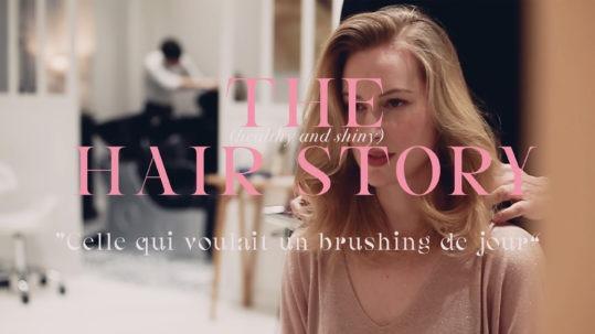 Réussir son brushing au naturel avec Olivier Lebrun - Claire Andreewitch