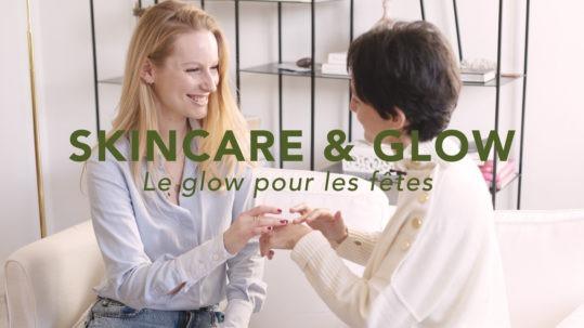 Glow pour les fêtes avec Delphine Langlois - Claire Andreewitch